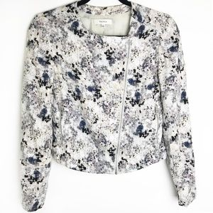 Aritzia   Talula Omotesando  Moto Floral Jacket